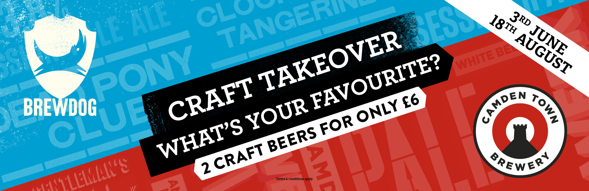 Craft Takeover at The Old Royal